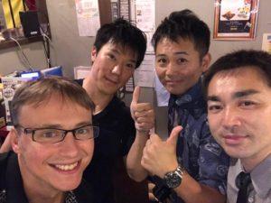 レナート社長、ユーチューバー「くうしば」、ユーチューバ「わっきー」、 遠藤誠